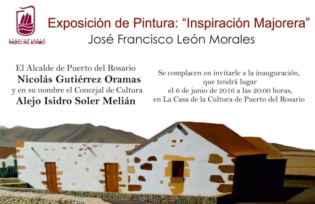 Exposición de Jose Francisco León en la Casa de la Cultura