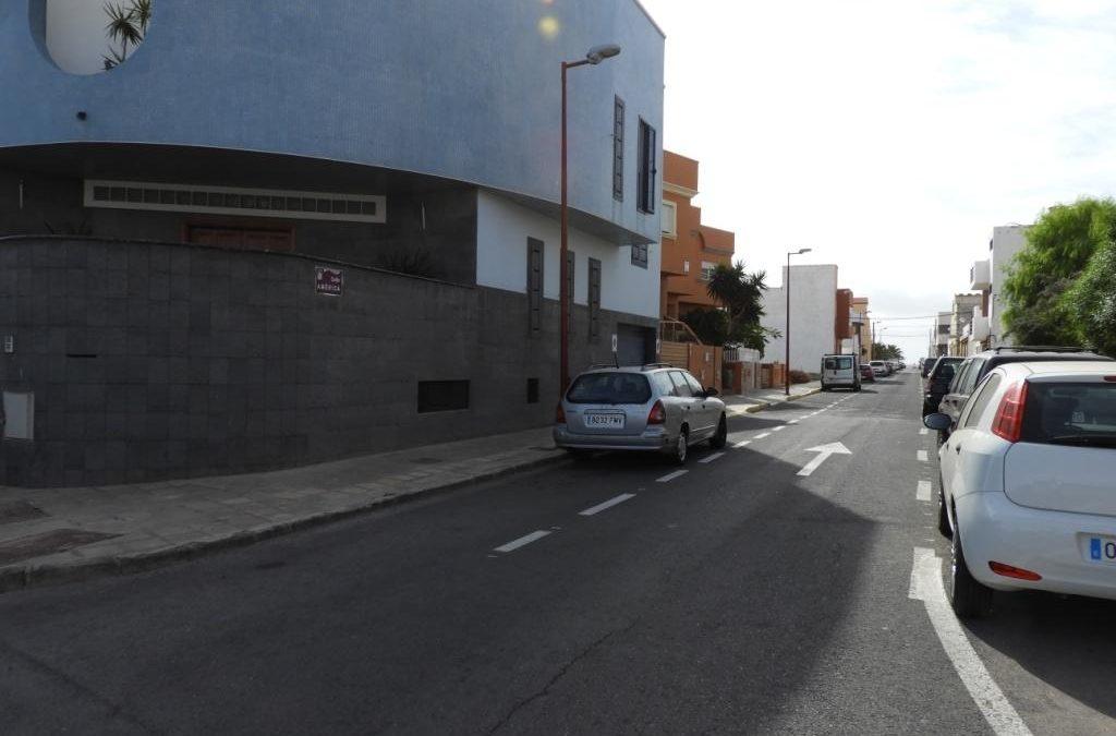 Asfaltado en varias calles y en la carretera a La Asomada por el Cementerio
