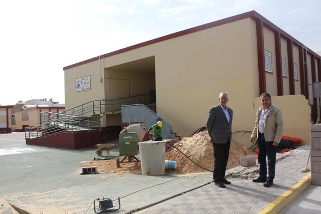 Obras de mejora en el CEIP de Puerto del Rosario