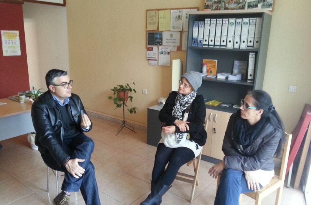 Reunión del Concejal de SS.SS. con AMDAH