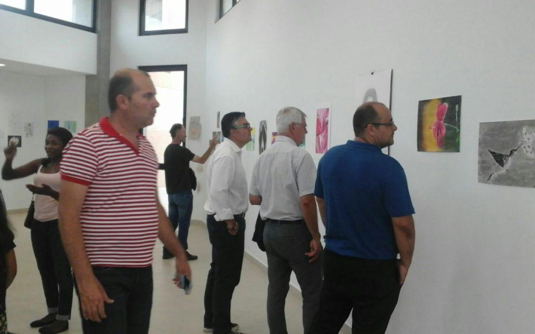Se inaugura la Exposición de los alumnos del Taller de pintura «El Piso»