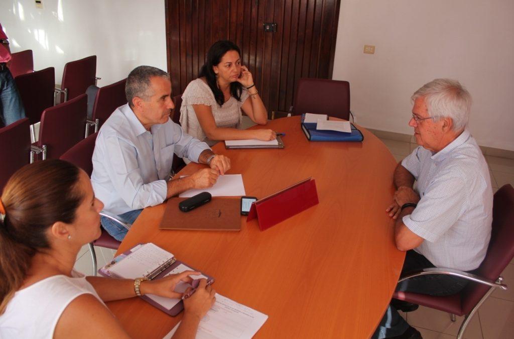 Visita de los Parlamentarios nacionalistas por Fuerteventura al Ayuntamiento