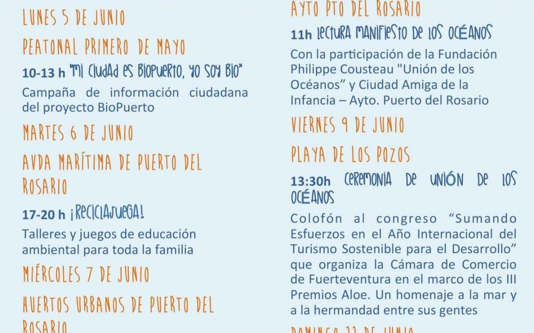 Semana del Medio Ambiente en Puerto del Rosario
