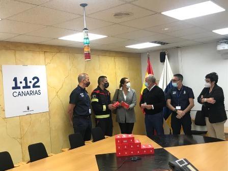 Puerto del Rosario recibe 50 dispositivos de salvamento en mar por parte de la Dirección General de Seguridad y Emergencias
