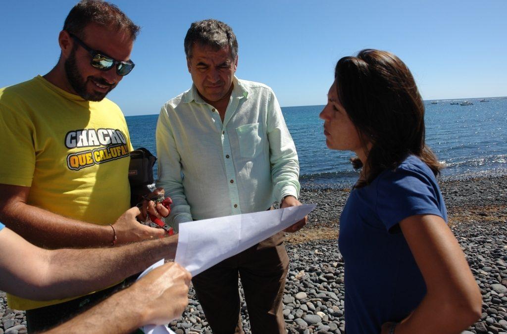 Nuevas mejoras en la Playa de Puerto Lajas
