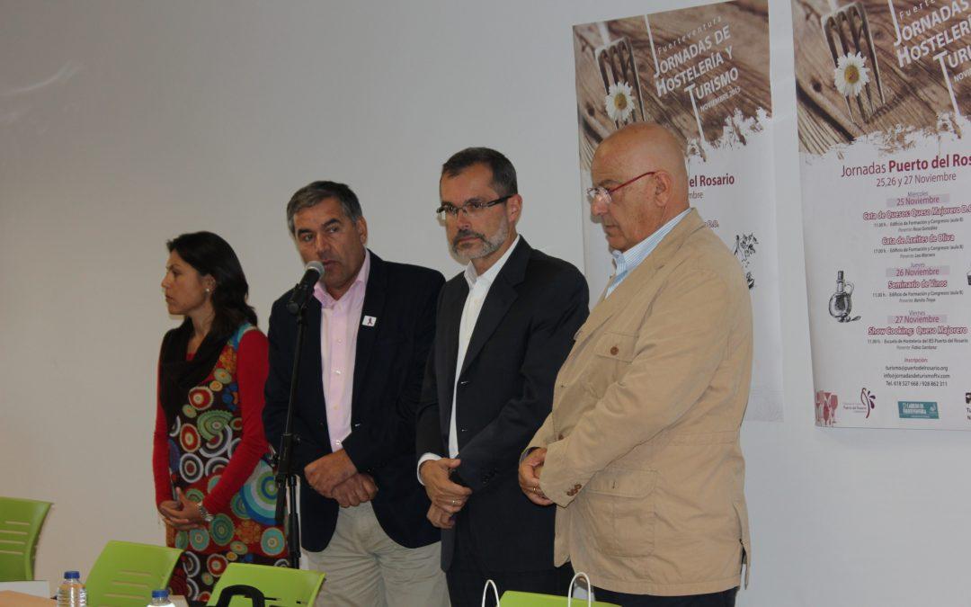 Casi 300 inscritos en las  sesiones de las Jornadas de Hostelería y Turismo