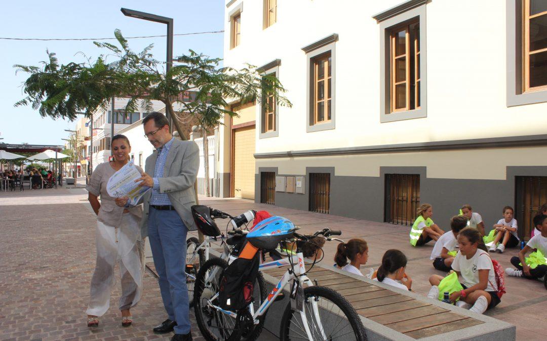 Una Flashmob por la movilidad, apuesta novedosa en el Día sin Coche