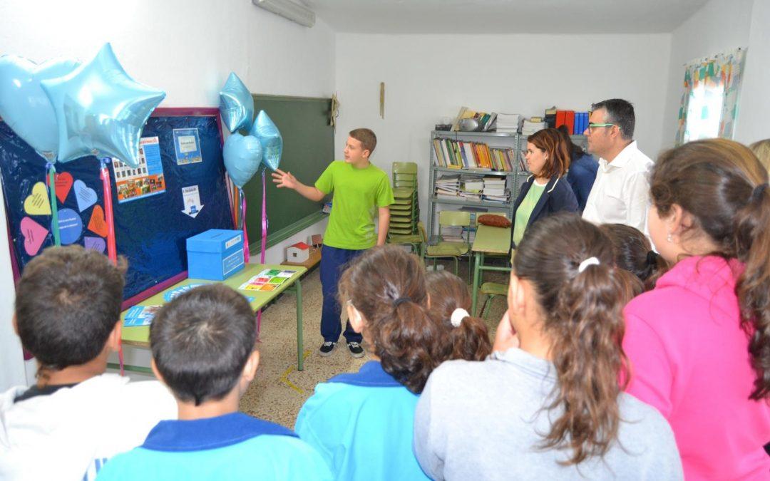 Presentación del Rincón CAI en el Colegio de Casillas del Angel