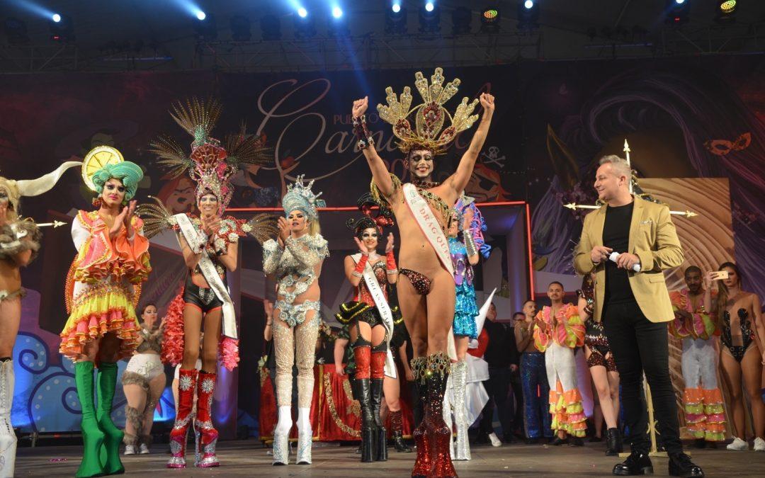 La Carpa del Carnaval vive una de sus noches más exitosas con la Gala Drag