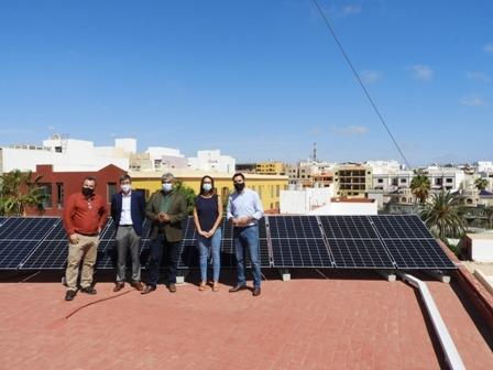 El Ayto. capitalino cuenta con 82 paneles solares para el autoconsumo energético