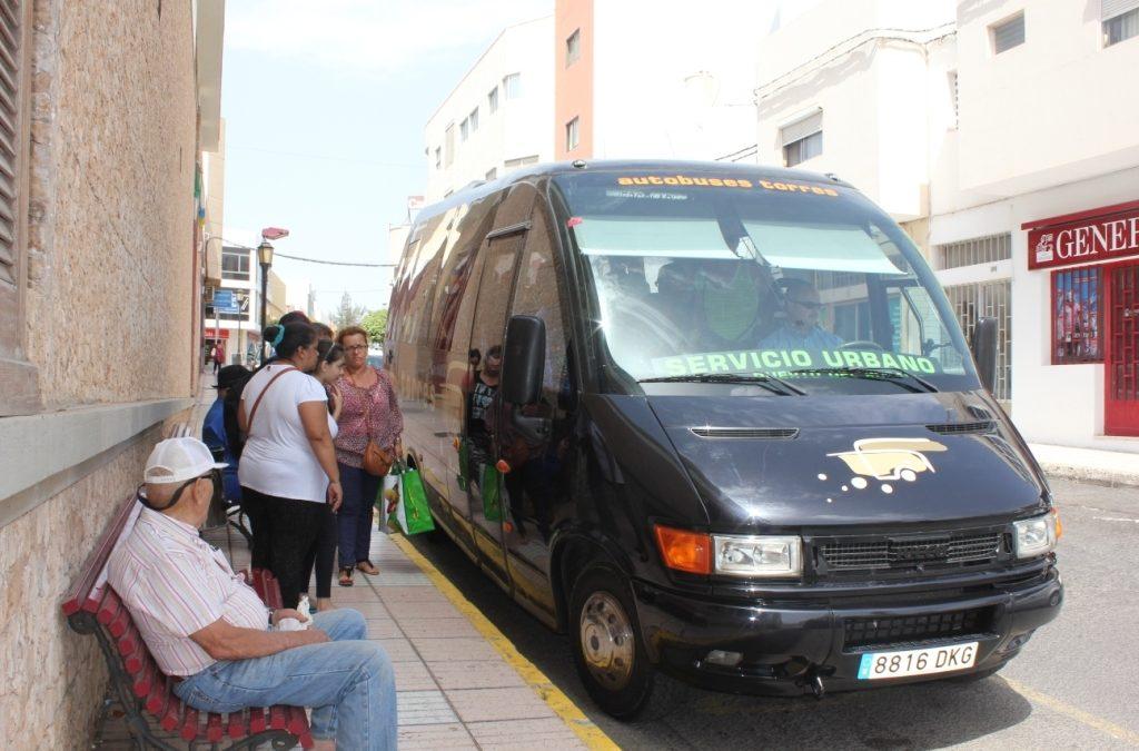 El Servicio de Guagua urbana mejorará la ruta con el inicio del curso escolar