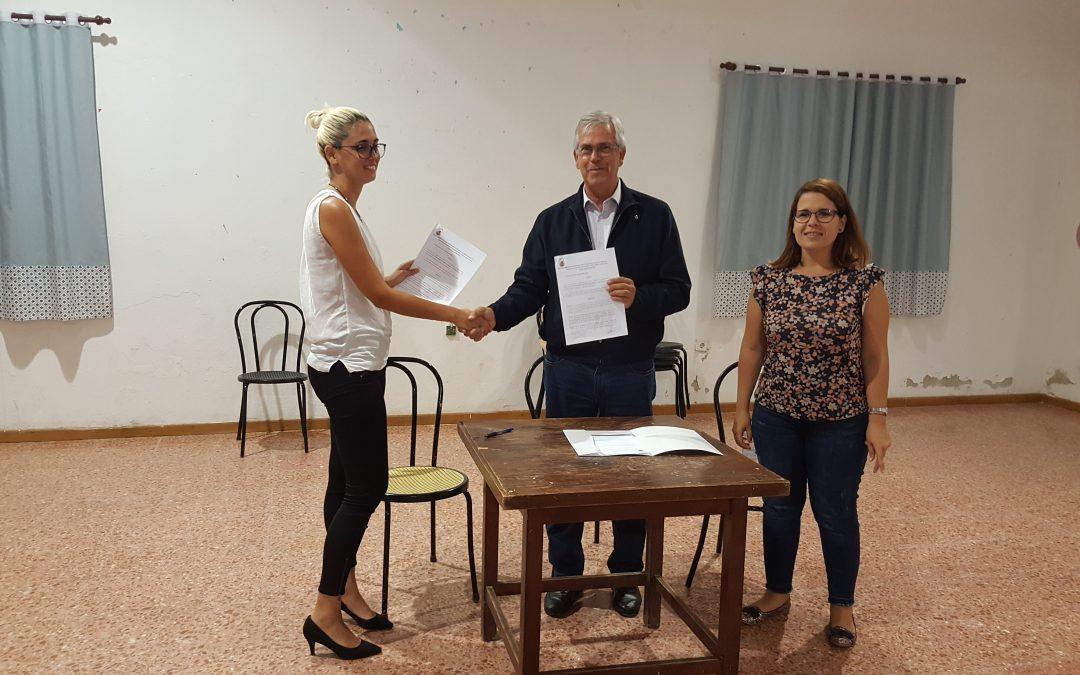 Cesión en  la gestión del centro cultural  de Ampuyenta a sus vecinos