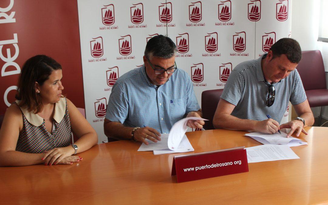 Firma del contrato administrativo para la ejecución del servicio de gestión tributaria