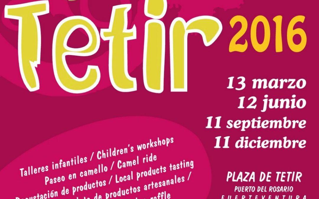 Este domingo, 13 de marzo, nueva cita con el Mercado artesanal de Tetir