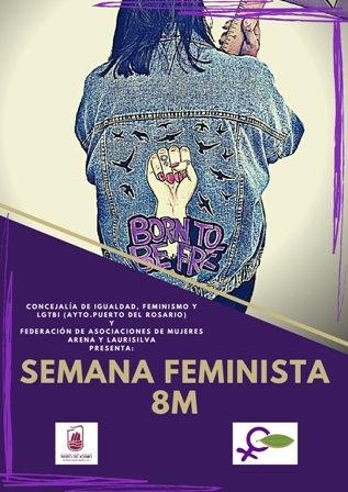 La capital acogerá una serie de actos en conmemoración por el 8M, Día Internacional de La Mujer