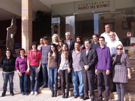 PUERTO DEL ROSARIO RECONOCE A SUS MEJORES ESTUDIANTES