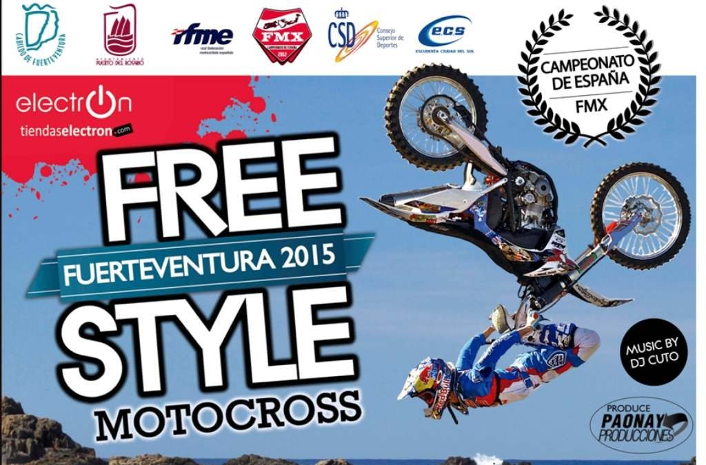 Se presenta el espectáculo «Freestyle Motocross Extreme» en Puerto del Rosario