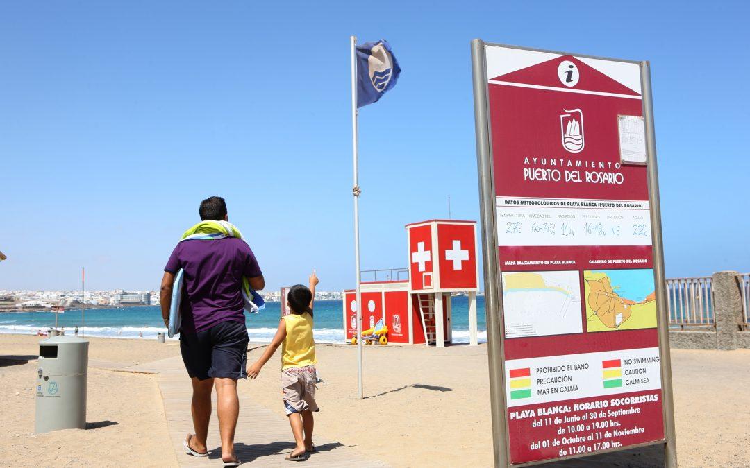 Ya están en marcha la vigilancia en Playa Blanca, Puerto Lajas y Los Pozos