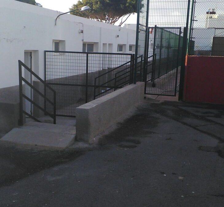 Mejoras en las canchas de Fútbol 5 y 8 del Estadio de Los Pozos