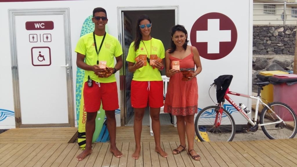 La Concejalía de Playas inicia una campaña de prevención solar
