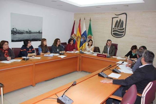 Reunión del Consejo Escolar Municipal de Puerto del Rosario