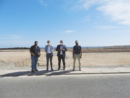 El Polígono Industrial de El Matorral presenta una imagen renovada