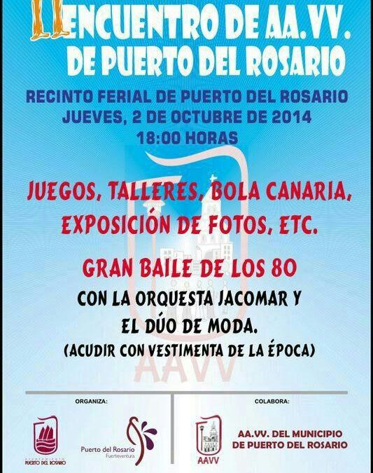 Inauguración del certamen «Suso Machín» y II Encuentro de Asociaciones de Vecinos