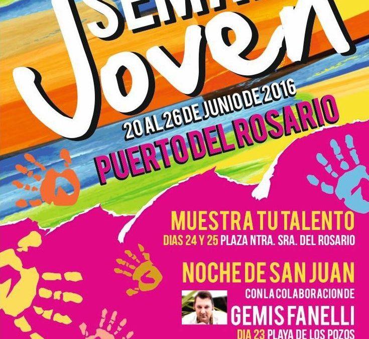 Presentación de la I Semana Joven de Puerto del Rosario
