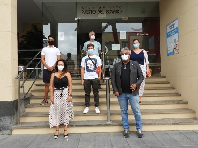 Puerto del Rosario agradece a los/as estudiantes en prácticas su implicación