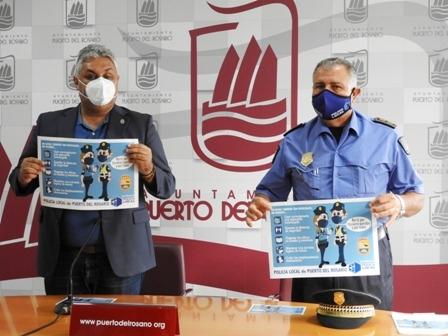 La Policía Local presenta su Campaña de Navidad para atajar el Covid -19