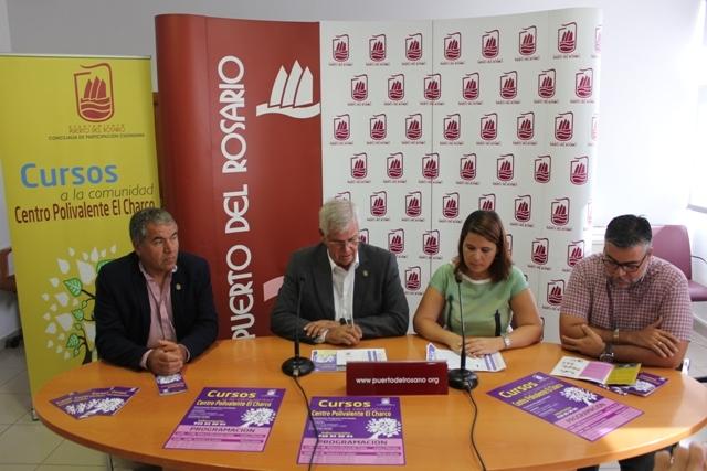 El Ayuntamiento de Puerto del Rosario presenta los «Cursos a la Comunidad»