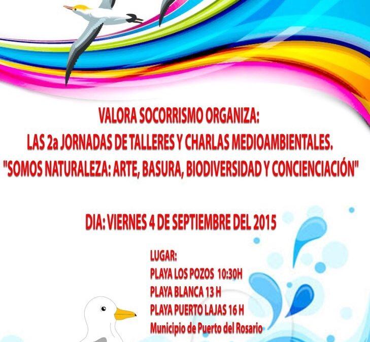 II Jornadas de talleres y charlas medioambientales en Puerto del Rosario
