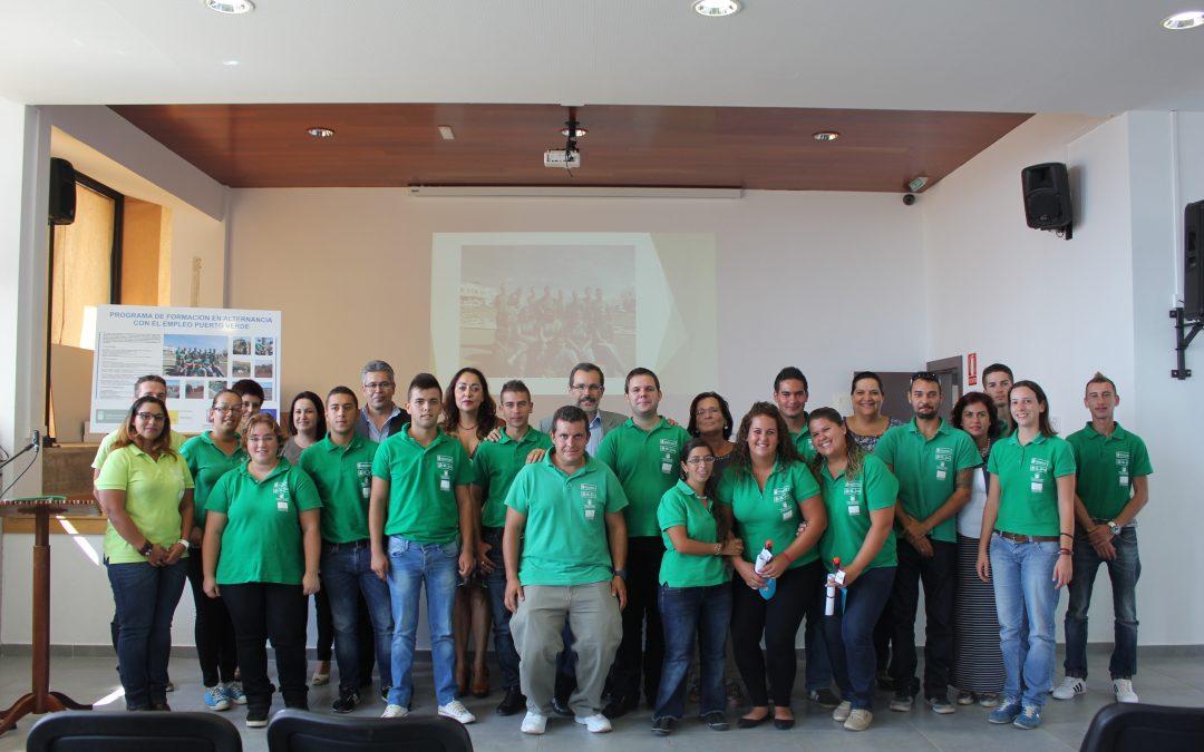 «Puerto Verde» deja casi 20.000 m2 de nuevas zonas verdes
