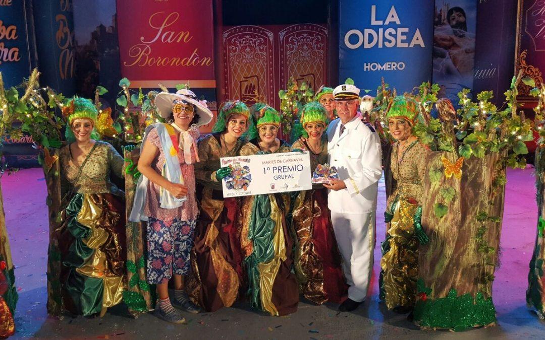 El Carnaval de Puerto celebra su noche más grande con una espectacular «Gala Drag» y la elección de los mejores disfraces.