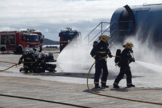 Simulacro de Accidente Aéreo. Bando de la Alcaldía de Puerto del Rosario