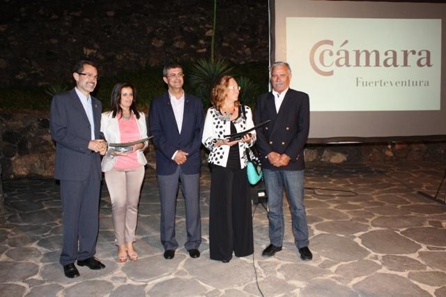 Puerto del Rosario recibe el Premio Aloe, distintivo de la Cámara de Comercio a la iniciativa sostenible