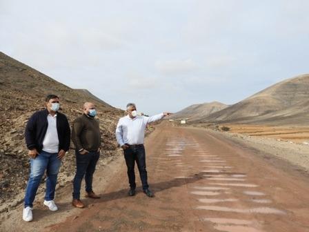 El Ayuntamiento acomete la adecuación de los caminos rurales de Guisguey