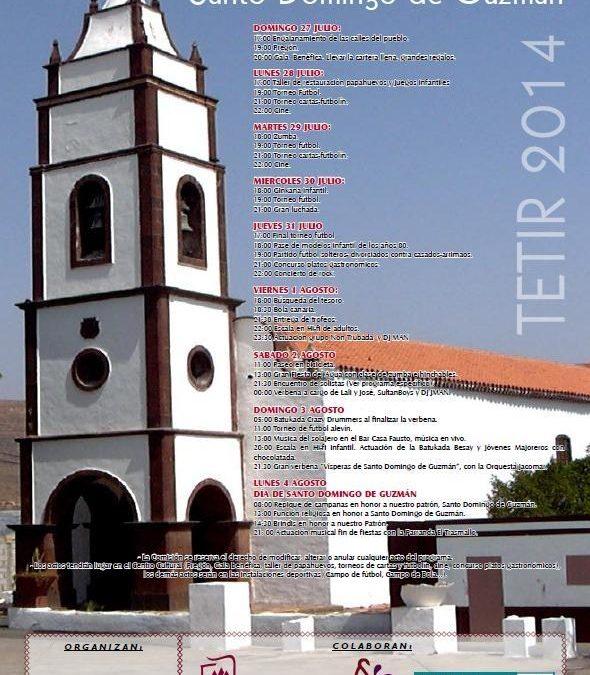 Fiestas patronales de Tetir 2014