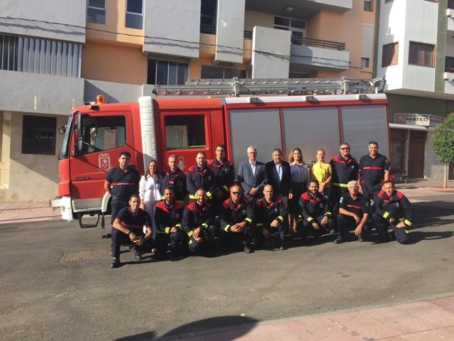Efectivos de bomberos toman posesión en el Ayuntamiento de Puerto del Rosario