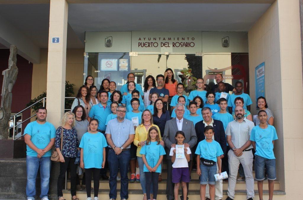 UNICEF visita Puerto del Rosario y felicita al Ayuntamiento por su trabajo con la infancia