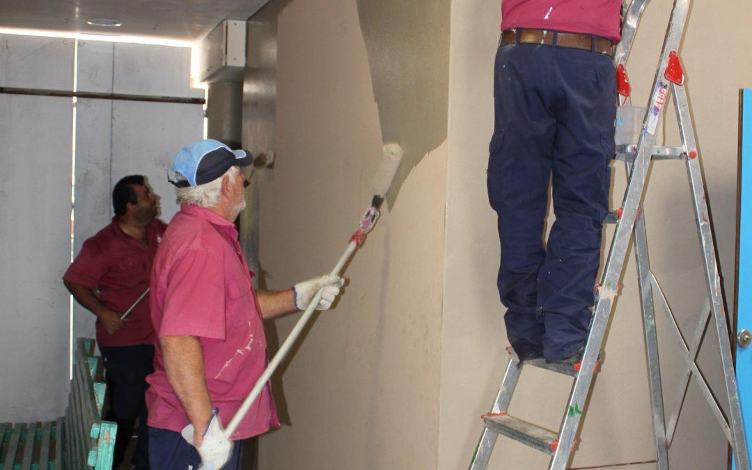 Se procede con urgencia a la reparación de los daños en el C.C. de Fabelo