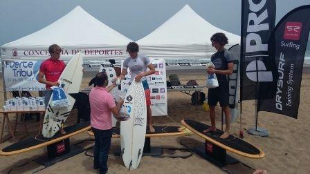 Circuito autonómico de surfing en Puerto del Rosario