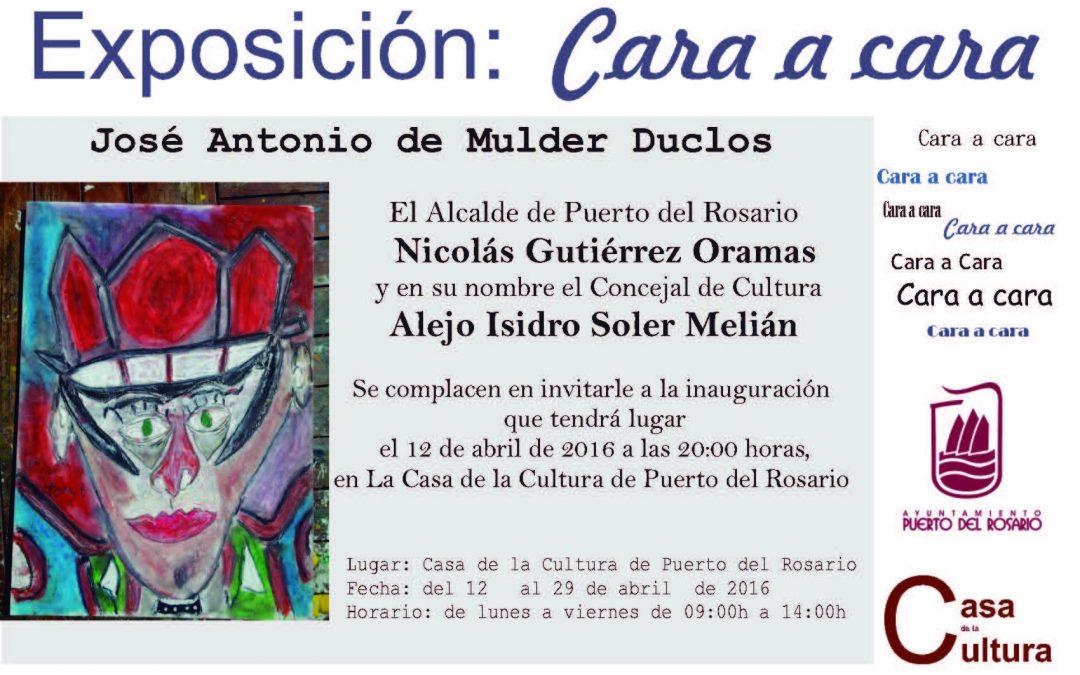 Hoy martes, 12 de abril, se inaugura la Exposición de Jose Antonio de Mulder
