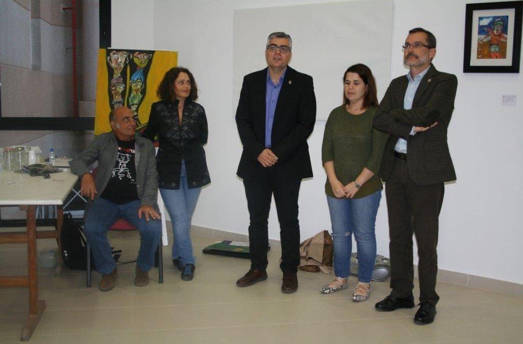 Inaugurada la Exposición de Jose Antonio de Mulder
