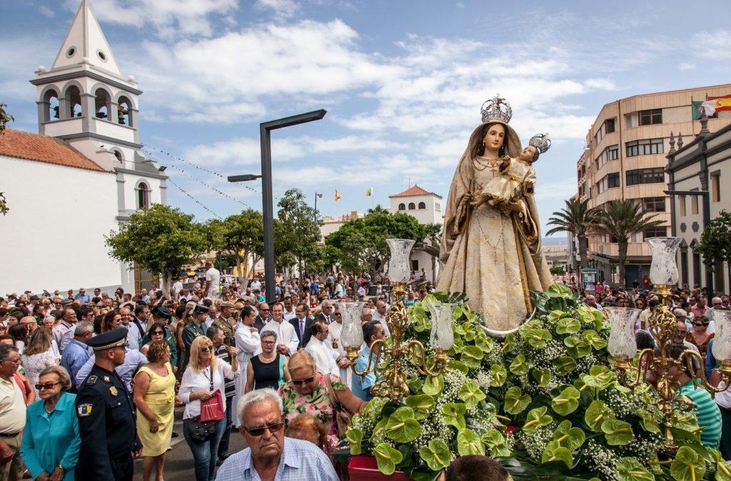 Día grande en las Fiestas Patronales en Honor a Ntra. Sra. del Rosario 2015