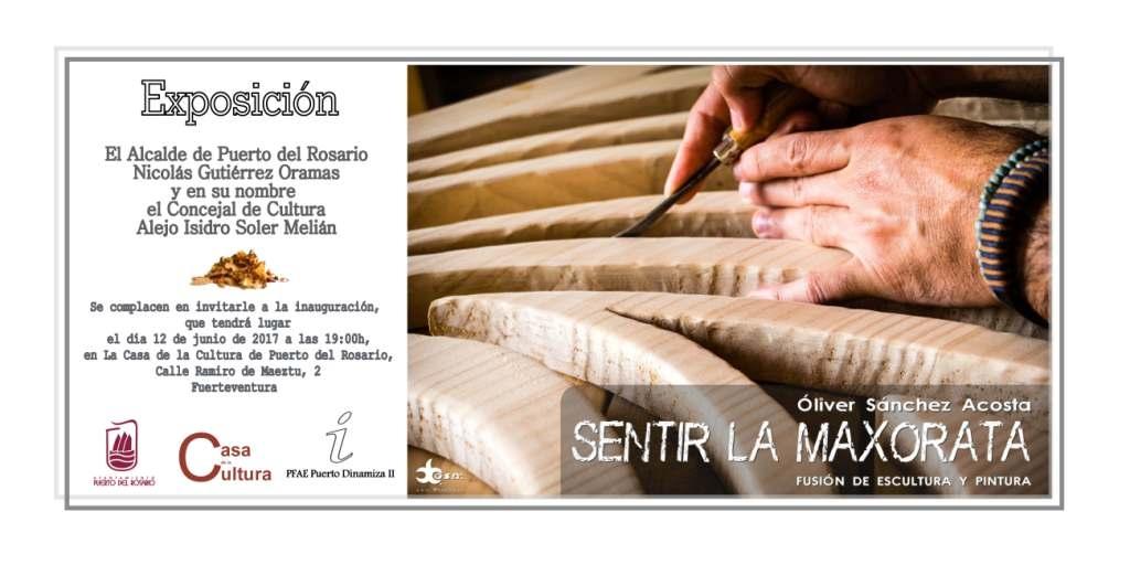 Exposición de Oliver Acosta «Sentir la Maxorata» en la Casa de la Cultura