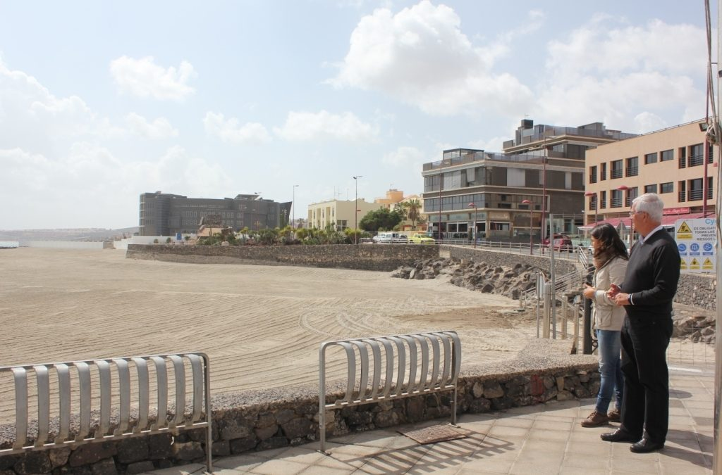 Este jueves, 23 de febrero, se abre al público la «nueva» Playa de Los Pozos