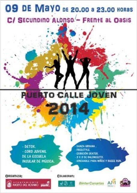 """""""Puerto, calle joven"""" vuelve a animar el fin de semana en la capital"""