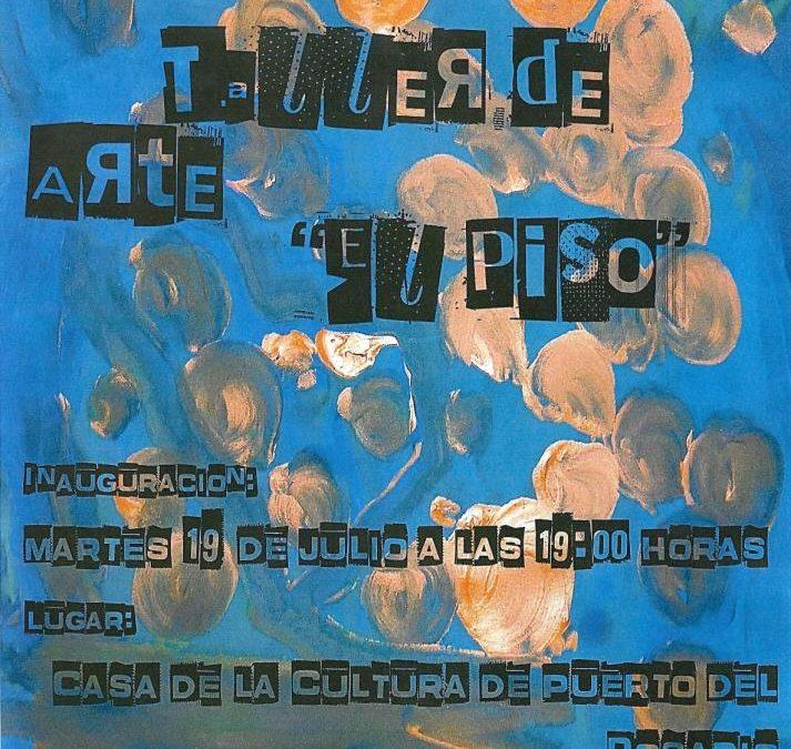 Exposición de los alumnos de pintura del Taller «El Piso»