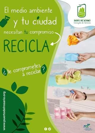 Puerto del Rosario incide en la importancia del compromiso ciudadano con el reciclaje